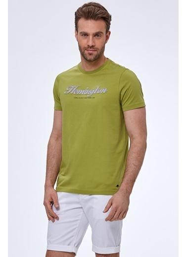 Hemington Tişört Sarı